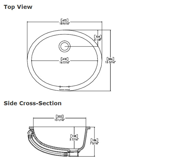 Standard bathroom sink dimensions the - What is the standard size of a kitchen sink ...