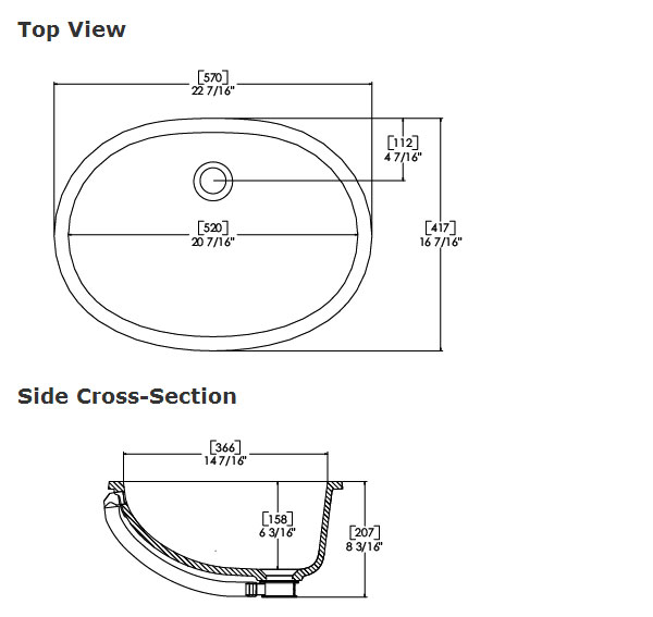 Bathroom Sink Measurements : Standard Bathroom Sink Dimensions Reanimators