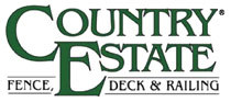 Country Estate Fence, Deck and Railing on Sweets - Logo