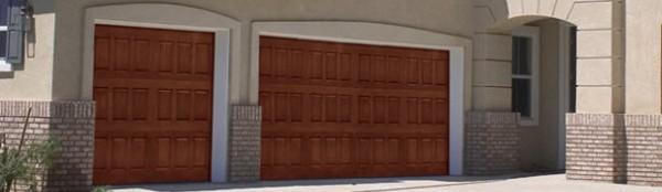 Impression Collection Wood Grain Fiberglass Exterior Residential Garage Doors Overhead Door