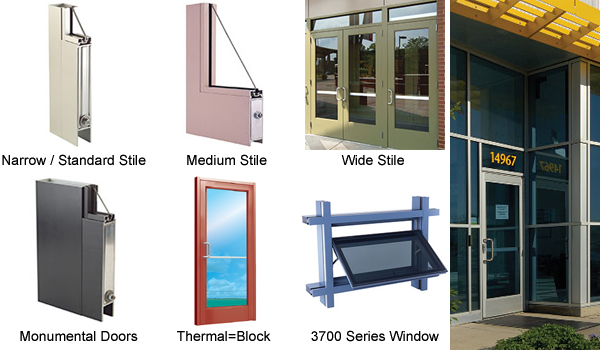 Aluminum Doors Tubelite Aluminum Doors