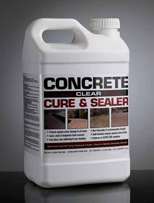 W-1000 Clear Concrete Sealer & Curing Compound – Davis ...