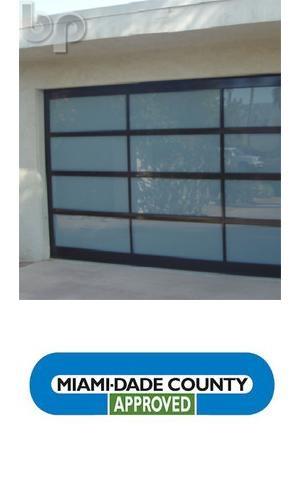 Hurricane line glass garage doors bp glass garage for Wind code garage doors