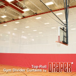 Draper, Inc. - Top-Roll Gym Dividers