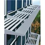 YKK AP America Inc. - Sun Control System for Curtain Wall and Storefront - THERMASHADE®