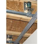 Kinetics Noise Control, Inc. - Model ICW Wood-Frame Ceiling Hanger