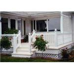 Country Estate Fence, Deck and Railing - Vinyl (PVC) Railing