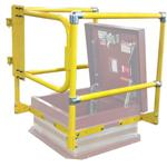 Nystrom Building Products - Roof Hatch Safety Railings