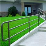 Superior Aluminum Products, Inc. - Series 500 Pipe Railings - 550 Pipe-Picket Railings