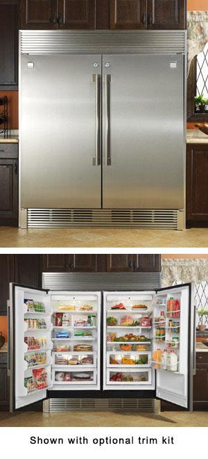 Kenmore Pro Professional Size Refrigerator Freezer