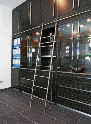 Stainless Steel Rolling Quot Library Quot Ladders Specialty Doors Sweets
