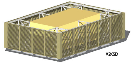 Louvered Equipment Screens Architectural Louvers Sweets
