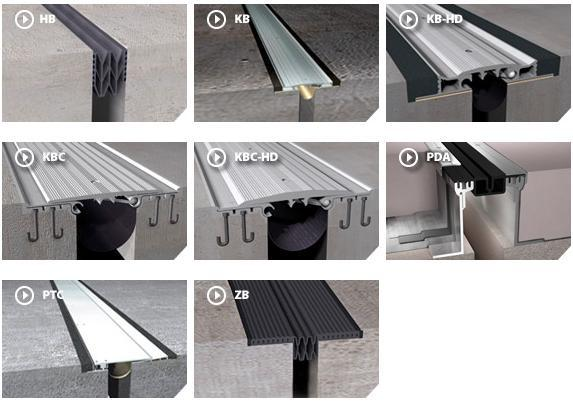 Expansion Joint Covers : Parking stadium expansion joint covers construction