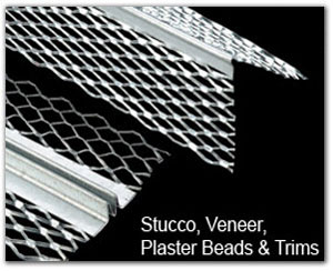 Stucco, Veneer & Plaster Beads & Trims: