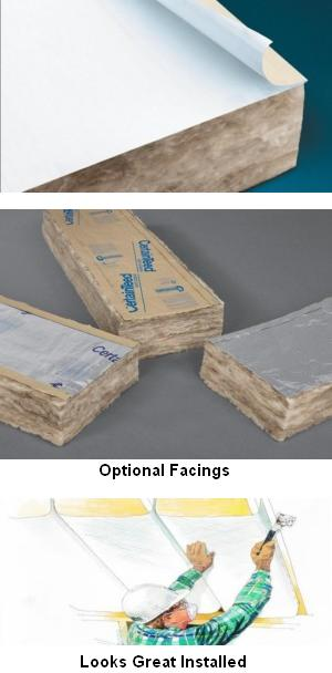 Thermal Batt Insulation : Certapro™ commercial sustainable insulation thermal