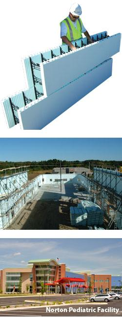 Nudura insulated concrete form system nudura sweets for Nudura icf cost