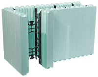 Insulated concrete form system components nudura sweets for Nudura icf cost