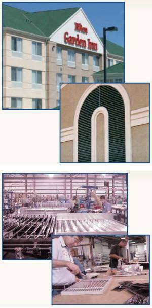 Reliable Architectural Louvers, Equipment Screens, Sun Control Products