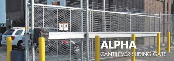 Alpha Cantilever Sliding Security Gates