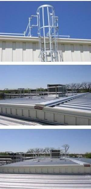 Keeguard Roof Edge Railing System Kee Safety Sweets
