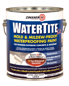 Stain Block Mold Resistant Off White Paint