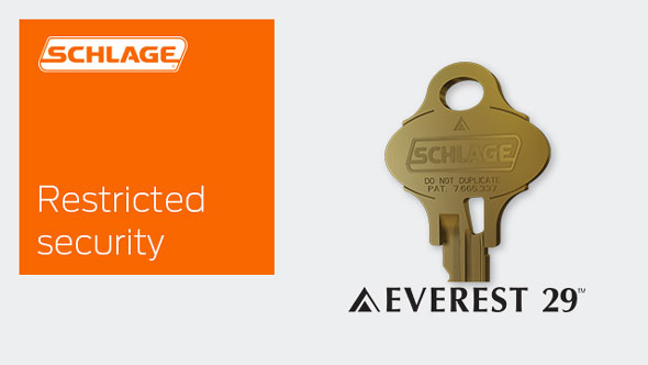 Everest 29 Restricted Security Keyways Schlage