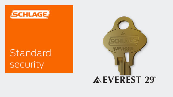 Everest 29 Standard Security Keyways Schlage Commercial