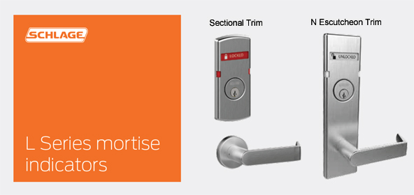 Messaging Indicators For L Series Mortise Locks