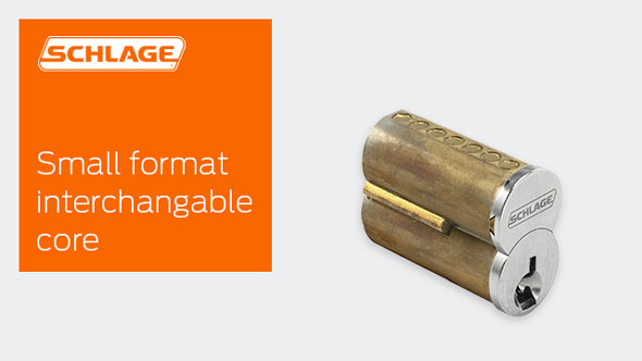 Small Format Interchangeable Core Sfic Schlage