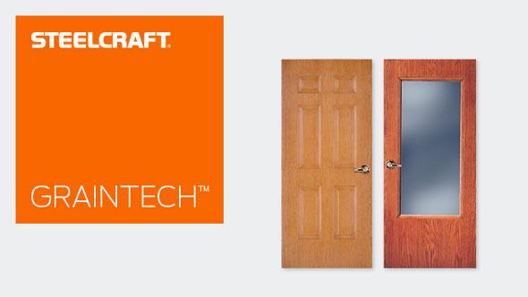 GrainTech™ Series Stainable Steel Doors  sc 1 st  Pezcame.Com & Steelcraft Doors Specs u0026 Steelcraft Doors Steel Craft Door ... pezcame.com