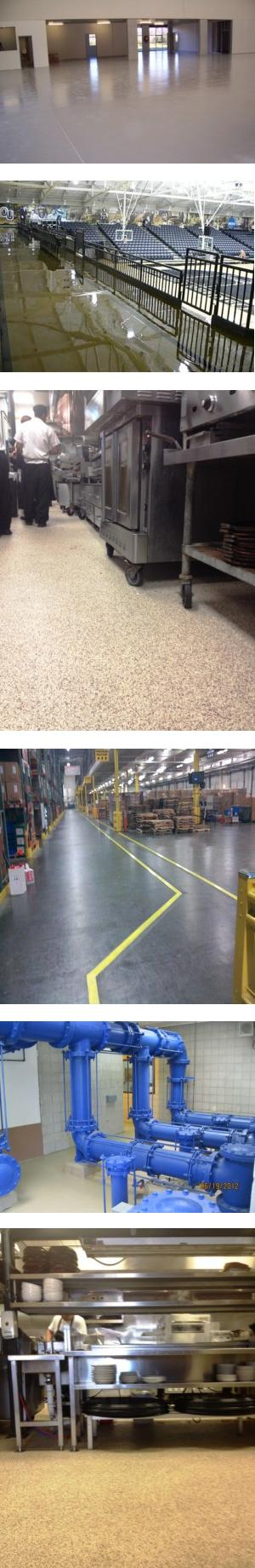Specialty Flooring Systems : Specialty protective floor coatings elite crete systems