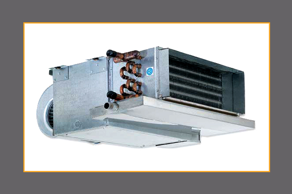 Fan Coil Unit : Horizontal low profile fan coil units and blower