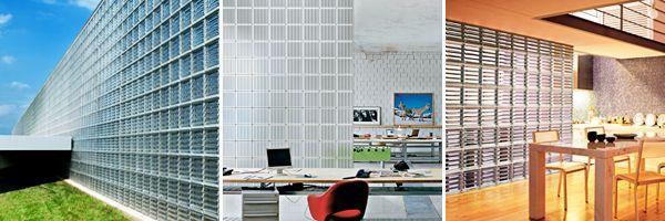 Doric glass block seves glassblock sweets for Interior design 77379