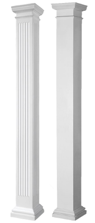 Round Tapered Frp Columns Worthington Millwork Sweets