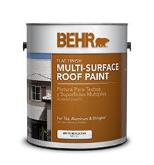Behr 174 Multi Surface Roof Paint No 65 Behr Process