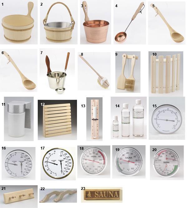 mccoy sauna accessories