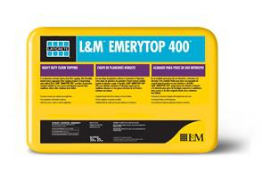 L Amp M Emerytop 400 Emery Aggregate Floor Topping