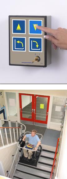 artira inclined platform wheelchair lift garaventa lift. Black Bedroom Furniture Sets. Home Design Ideas