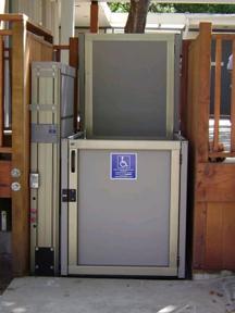 Genesis opal vertical lift garaventa lift sweets for Garaventa lift