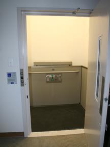 genesis vertical platform lift shaftway model. Black Bedroom Furniture Sets. Home Design Ideas