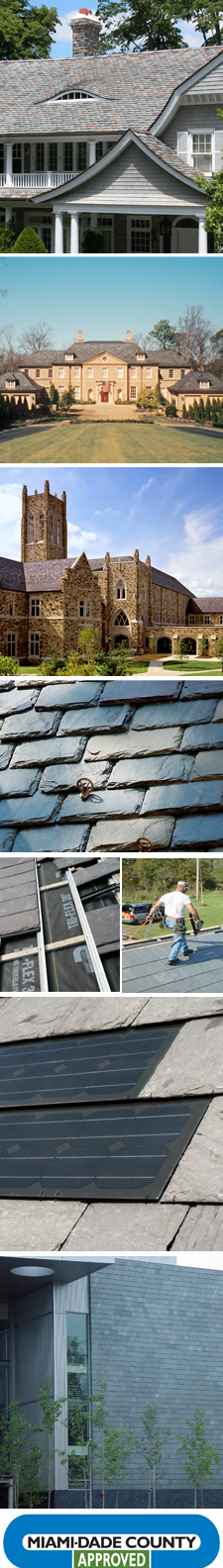 Nu-lok™ Roofing Systems Featuring Greenstone Slate®