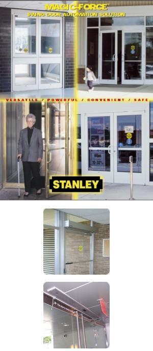 MagicForce Door Operator Stanley Access Technologies LLC L Sweets 491336 stanley magic access door operators service manual 28 images stanley magic access wiring diagram at webbmarketing.co