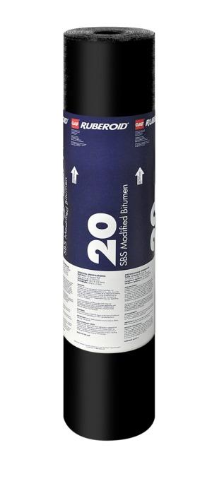 Ruberoid 174 Modified Bitumen Sbs Roofing Membranes Gaf