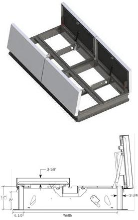 Quad Door Stc 50 Acoustical Smoke Vent Nystrom Sweets