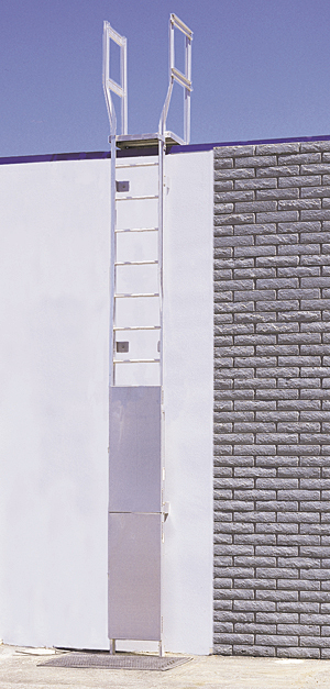 Exterior Wall Ladders : Alaco ladder company sweets