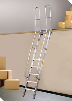 Mezzanine Access Ladders Alaco Ladder Company Sweets