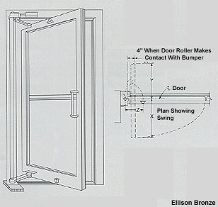 this warranty does not apply to door pulls, locks or other hardware not  originally manufactured by ellison