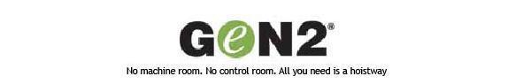 Gen2® Machine-Roomless Gearless Elevators