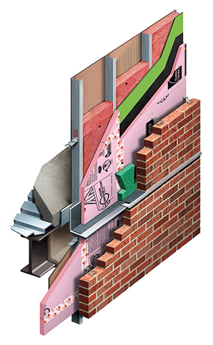 Steel Amp Wood Stud Wall Insulation Owens Corning Sweets