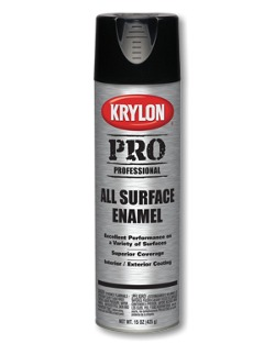 krylon professional all surface enamels aerosols. Black Bedroom Furniture Sets. Home Design Ideas